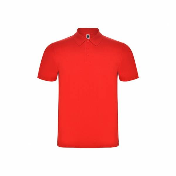 Polo austral rojo Roly