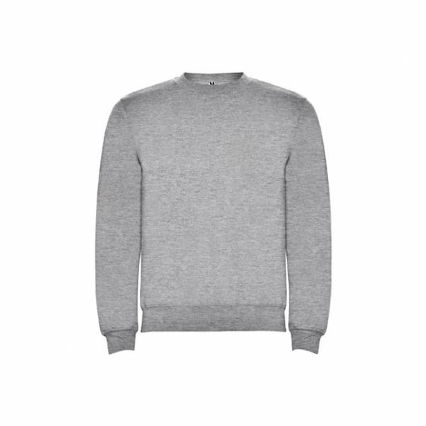 Sudadera clasica gris Roly
